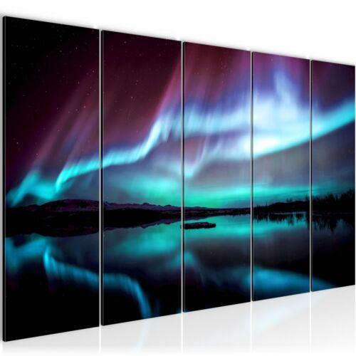 Murals XXL pictures Polar Light Fleece Canvas Picture art print 609155P