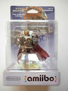 Ganondorf-034-Zelda-034-Super-Smash-Bros-Collection-Figurine-Interactive-Amiibo-Wii-U