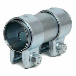 2 x Rohrverbinder Ø 125 mm für Auspuff Abgasanlage 48 mm Länge