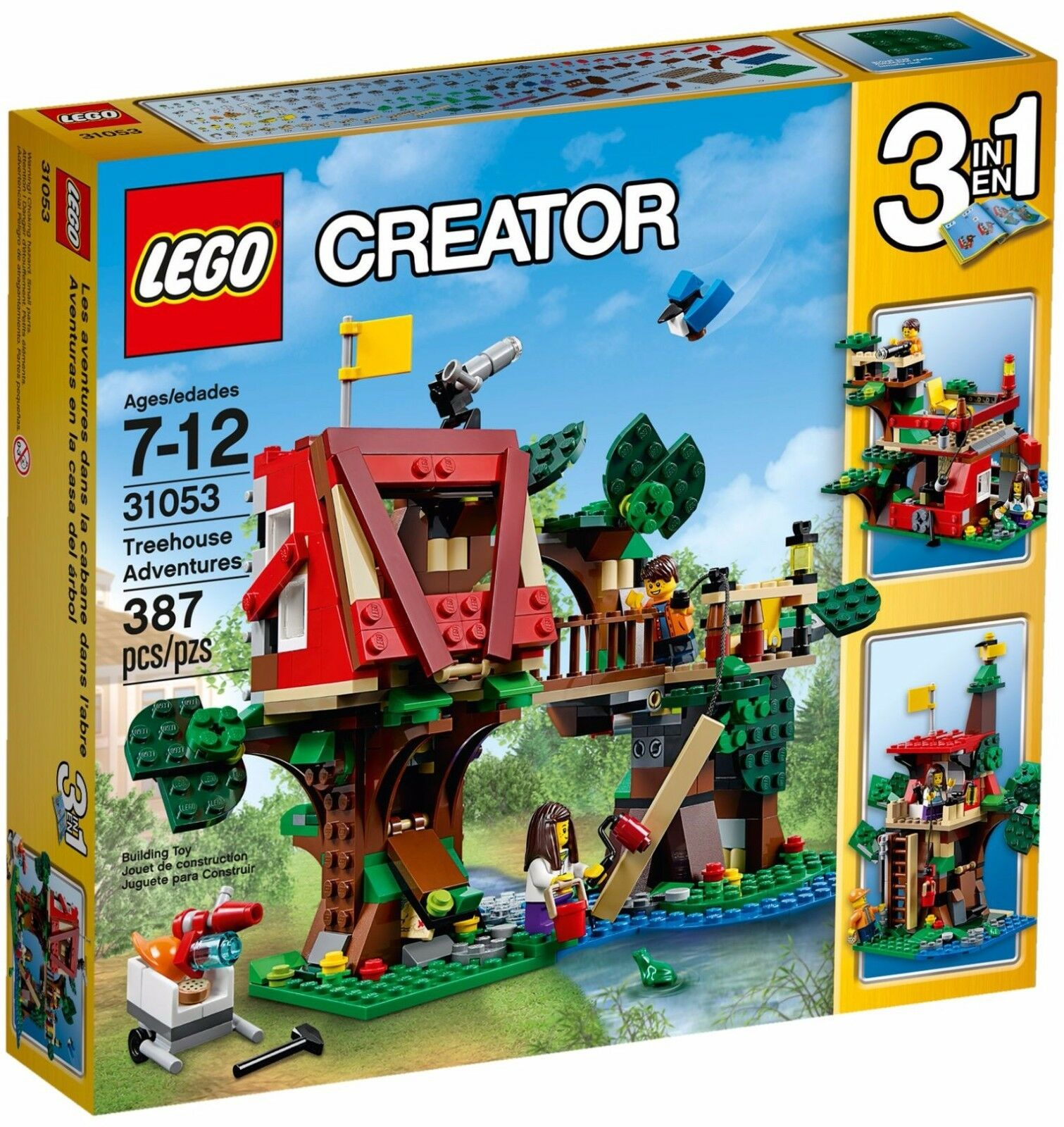 LEGO Creator Treehouse Adventures 3in1()(Retired 2016)(Rare)(NEW)