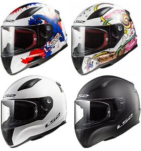 Ls2 Ff353 Mini Childs Kids Childrens Motorcycle Helmet