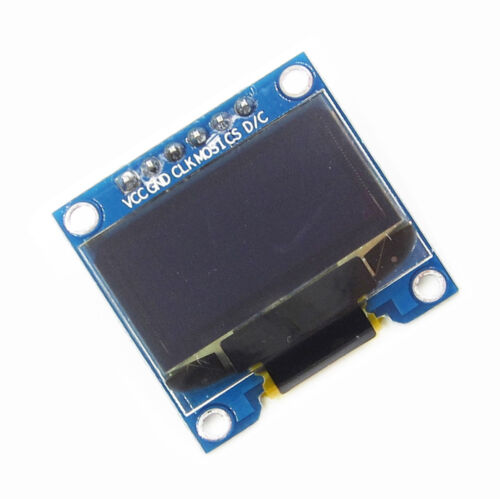 """0.96/"""" SPI Serial 128X64 blue yellow OLED LCD LED Display Module BBC"""