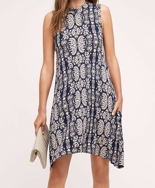 aa22a79bd68b6 Anthropologie (Maeve) Lilt Swing Dress (S) (S) (S) NWOT - 118.00 a27ee8
