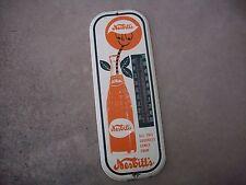 Vintage Nesbitt's Thermometer, Orange Soda Thermometer, 1960's