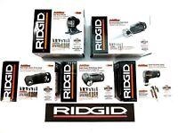 Ridgid 5 Pc Jobmax Head Set- Drill Hammer Impact Jig & Reciprocating Saw Kit