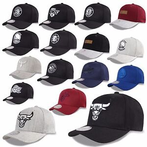 bb32e1c635b28 Mitchell   Ness and Snapback Flexfit 110 Cap Bulls Nets Warriors ...