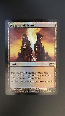 M11 ** Dragonskull Summit EX+//LP ** Mtg Magic FOIL