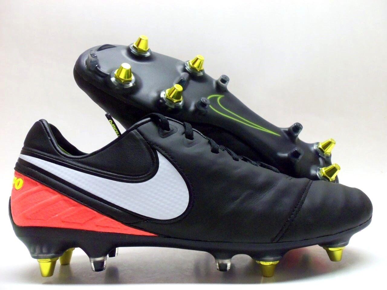 Nike tiempo fußball legende vi sg-pro ac fußball tiempo - fest, schwarze größe männer 8,5 [869483-018] 059942