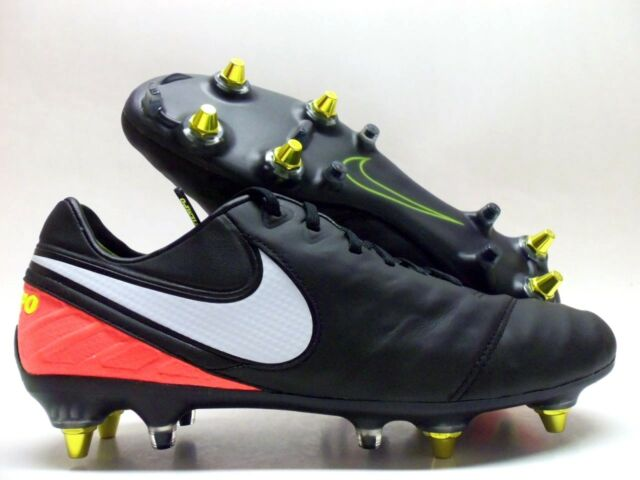 4552cb0fe09 Nike Tiempo Legend VI SG Pro AC Cleats Sz 8 100 Auth. ACC 869483 018 ...
