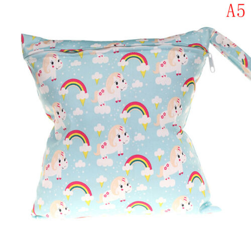 Wet bag washable reusable cloth diaper nappies bags waterproof  Kd
