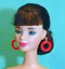 Barbie-Dreamz-LARGE-HOOP-RING-Hoops-EARRINGS-Doll-Jewelry-CHOICE-of-12-COLORS thumbnail 3