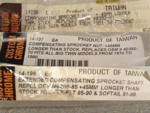 """1 3//4/"""" Primary Offset Parts for Wide Tire Choppers-NEW!"""