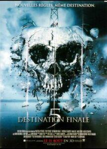 Affiche Du Film Destination Finale 5 40x60 Cm Ebay