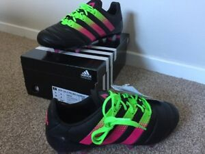 ADIDAS-ACE-16-1-RRP-150-FG-AG-Noir-UK-6-US-6-5-EU-39-3-Football-Soccer-boots