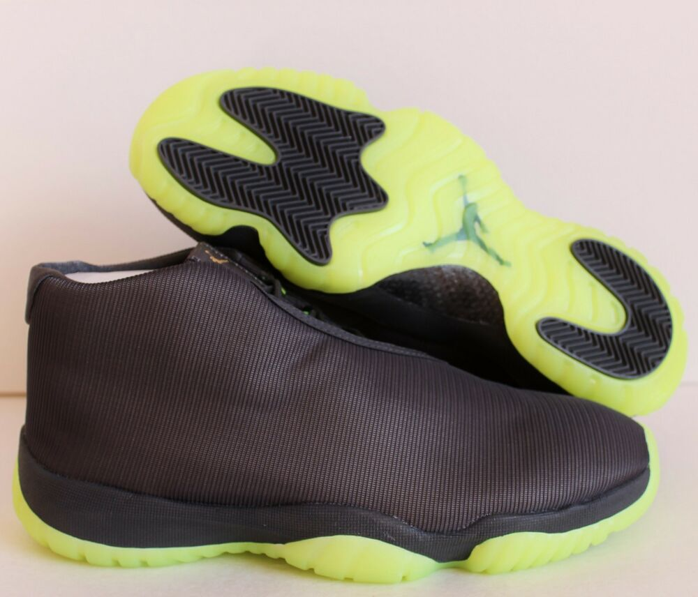 NIKE AIR JORDAN FUTURE FOOTSCAPE DARK Gris-VOLT SZ 12 [656503-025]