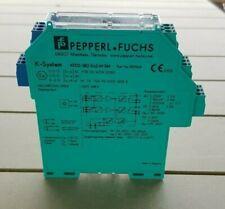 Pepperl Fuchs trennschaltverstärker kfd2-sr2-ex2.w