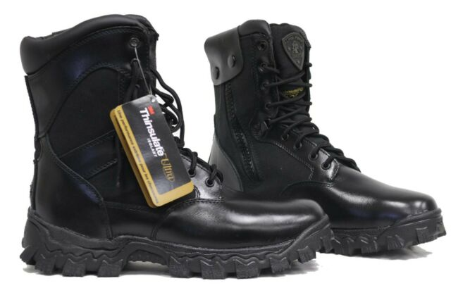 d16bbdf9642 ROCKY Alpha Force Waterproof 400g Insulated Duty BOOTS Black Rkyd011 10  Medium