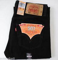 Levi´s ® 501 ®   Herren Jeans Neu SCHWARTZ / BLACK  Viele Grössen NEU