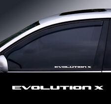 Evolution X Logo Window Decal Sticker Gráfico * Color Elección *