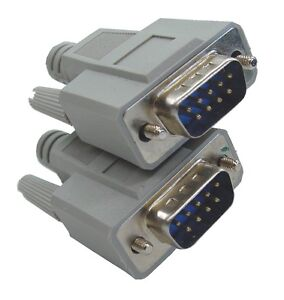 Serial-RS232-Cable-Straight-wired-DB9-9-pin-D-type-Male-to-Male-2M