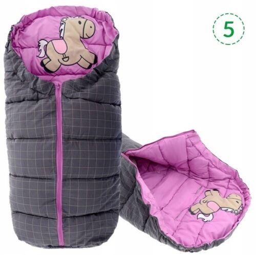 Schlafsack für Kinder  Kinderwagen Fusssack 4in1 *TUTUMI* TIERE