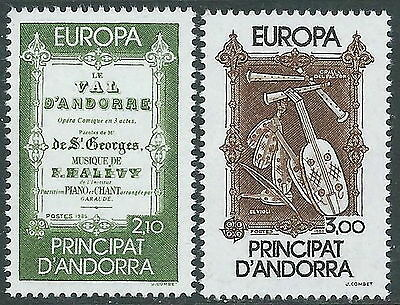 1985 Europa Andorra Francese Mnh ** - B Skilful Manufacture