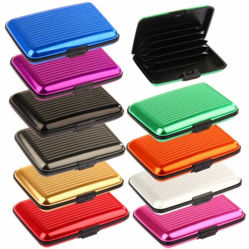 Aluminium RFID Wallet Case /& Contactless Protection Credit Card Wallet Holder