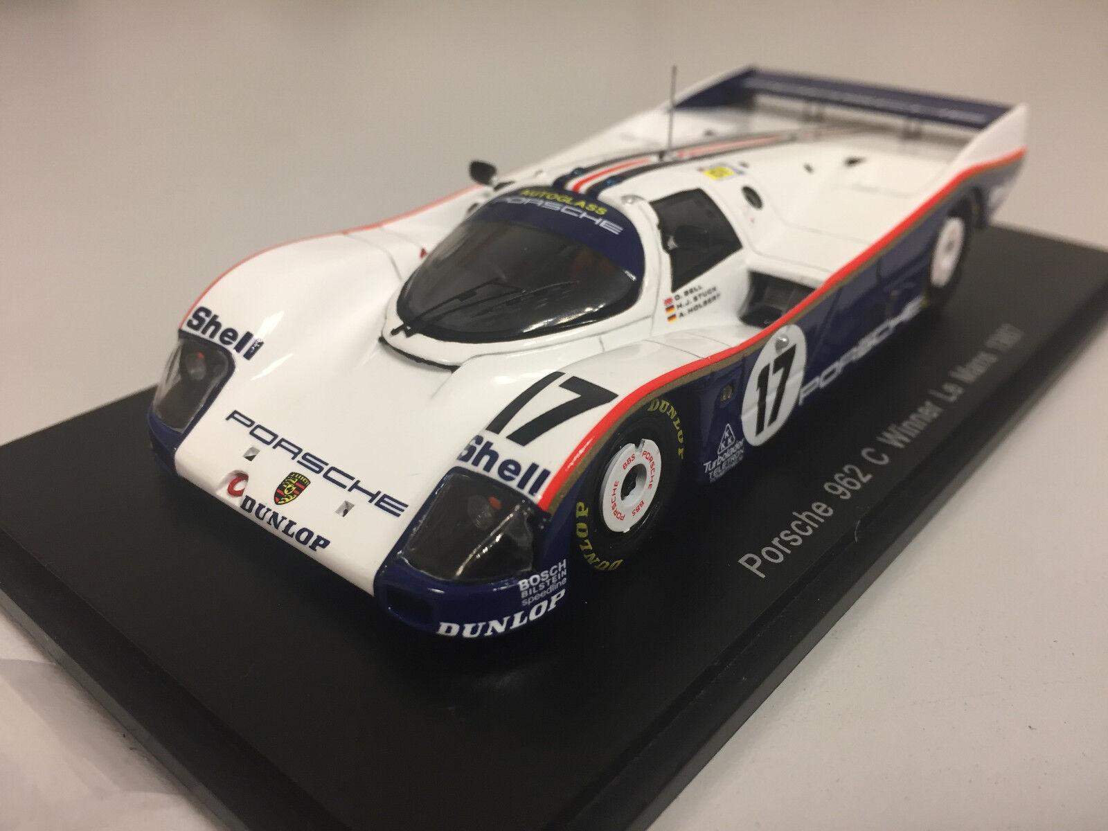 Spark Porsche 962 C n°17 Winner 24h du Mans 1987 1 43 43LM87