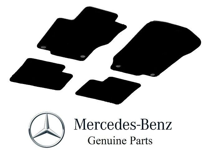 MICOOS Compatible with Car Floor Mat Carpet for Mercedes-Benz ML-Class//GL-Class 2006-2012 W164 X164 Black All Weather Heavy Duty Floor Mat Set Waterproof Stain-Resistant