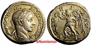 Severus-Alexander-AD-222-235-AR-Denarius-Victoria-reverse-RIC-180-XF-Condit