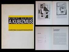 ALBERT GLEIZES, LE CUBISME, A KUBIZMUS - 1984 - BUDAPEST, BAUHAUS