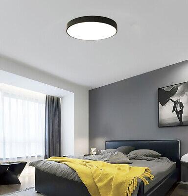 LED Ultraslim Deckenleuchte Wandlampe Wohnzimmer Flurleuchte Deckenlampe