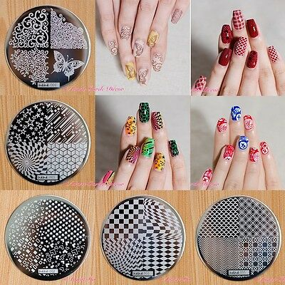 2015 HEHE Series Nail Art Stamping Image Plates Stamp Metal Template DIY Design