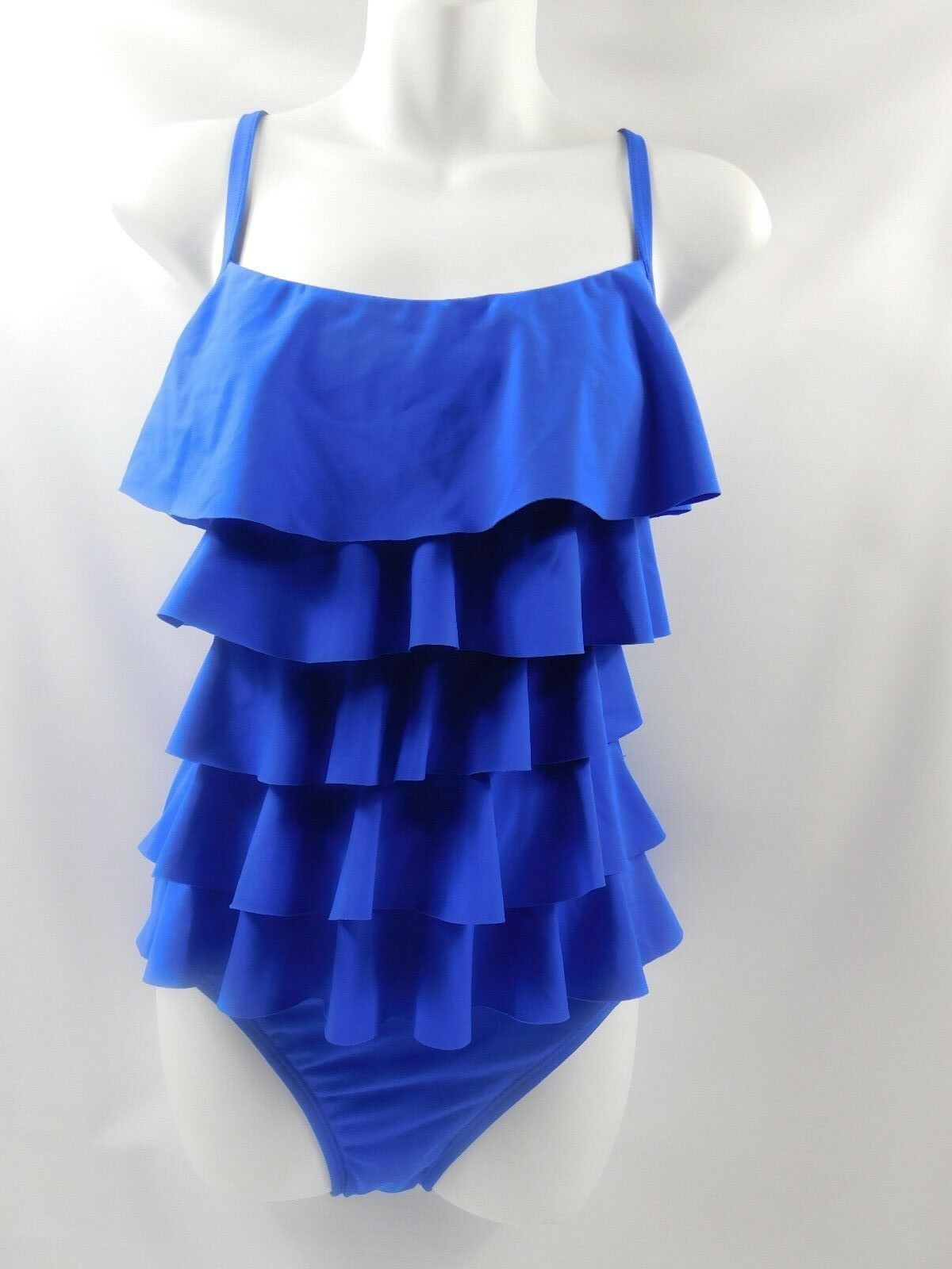 7cab67db770 One Piece Swimsuit by Aqua Green From Target Royal Blue Tiered ...