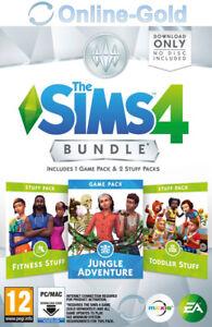 Les-Sims-4-Dans-la-jungle-Accessoires-Bambins-Fitness-EA-Origin-PC-FR-NO-CD