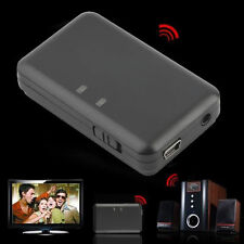 3.5mm Stereo Audio A2DP Bluetooth Music Receiver Adapter For TV DVD MP3 DE