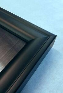 27x40 movie poster frame black wood solid square molding 27 inch 40 inch. Black Bedroom Furniture Sets. Home Design Ideas