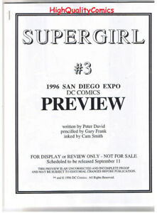 SUPERGIRL-3-Black-and-White-Promo-1996-VF-NM-Preview-more-in-store