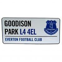 Everton Fc Street Sign Football Goodison Park L44EL Stadium Road Club Team New