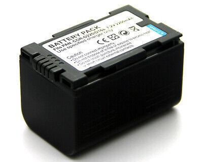 2x batería panasonic nv-ds77b nv-ds77eg nv-ds77en ds88 /_