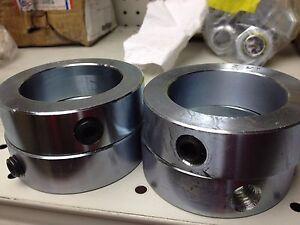 "1-3//4/"" Inch Solid Shaft Stop Collar Set Screw 10pcs Zinc Plated SC-175"