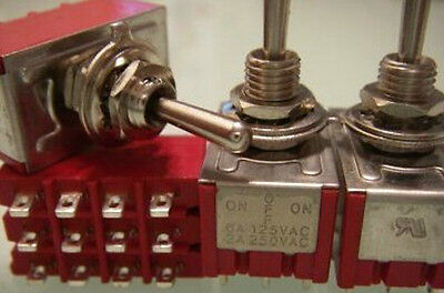 PKG1,Heavy Duty 4PDT Center Off,ON/OFF/ON Toggle Switch