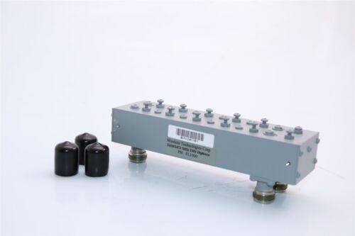 RF Diplexer Band-Pass Filter BPF WiFi F1 2.4GHz F2 2.85GHz B.W 50MHz 6 Poles