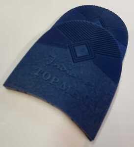 Absatz-Damen-o-Herren-Absatzgummi-Indiana-10-paar-Top-Qualitaet-Blau