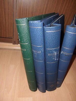 Taille Und Sehnen StäRken Blau Grün Beliebte Marke Leuchtturm 4x Klemmbinder 1718
