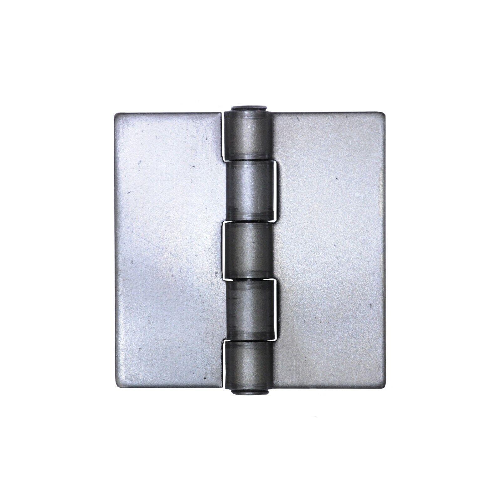 Heavy Duty Weldable 4 Pairs 4 x 4 Gate Hinges-Steel Butt Hinge//HVY Gates Doors