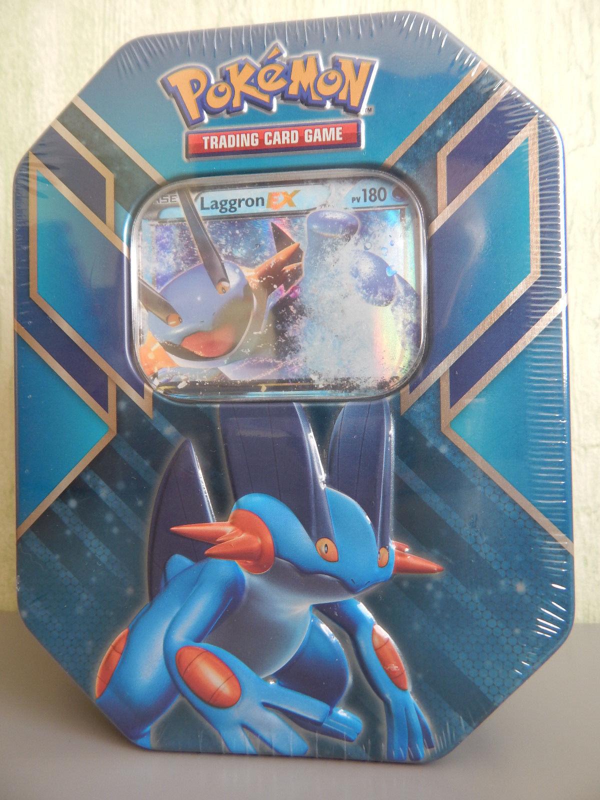 Pokémon pokebox laggron ex (4 förderer + carte promo) - scell é e fran ç ais