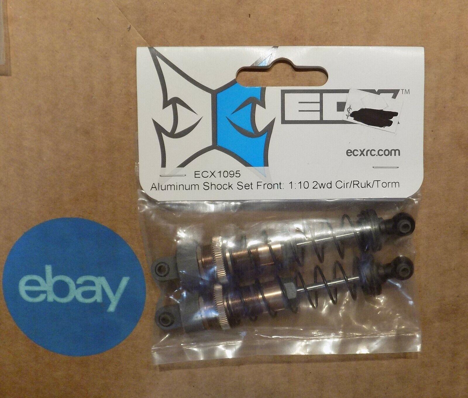 ECX Aluminum Shock Set Rear Z-ECX1096 1:10 2wd Cir//Ruk//Torm