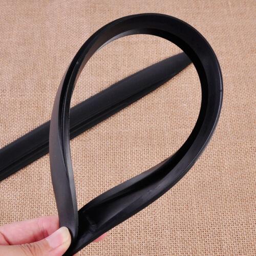 2 Black Car Bumper Streamline Edge Protector Strip Corner Guard Anti-rub Scratch