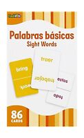 Sight Words (flash Kids Spanish Flash Cards) 86 Cards (flash Ki... Free Shipping